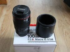 Canon f2.8 L  EF 100 mm Macro IS USM *OVP*