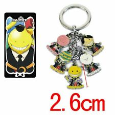 Keychain Fashion Metal Key Ring Assassination Classroom Korosensei 5 Pendant
