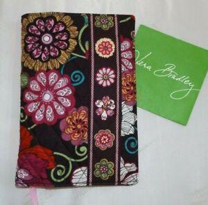 VERA BRADLEY Paperback Book Cover -  Mod Floral Pink - New