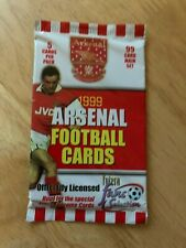 Sealed Packet of Futera 1999 Arsenal Fans Selection Trading Cards (5 Cards)
