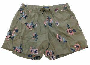 NEW!! Nautica Women's Elastic Drawstring Linen Blend Pull-On Shorts Variety #263