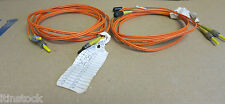 2 x Cisco Fibre Optic Fables Orange 1022M DFC 1 8/125 3395