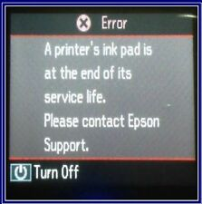 EPSON SC-50600 WAISTE INK PAD ERROR COUNTER RESET REPAIR TOOL (5 to 60 minute)