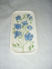 CAKE PLATTER SERVING TRAY STUDIO CERAMIC EARTHENWARE HAND PAINTED 14 CMS X 27CMS