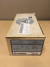 "NEW APPLETON LL200-A 2"" ALUMINUM FORM 85 UNILETS CONDUIT FITTINGS"