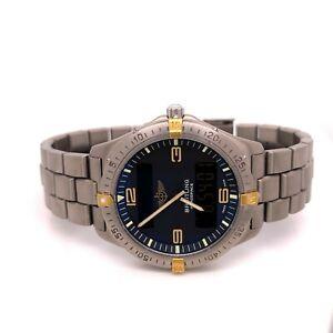 Breitling Aerospace Yellow Gold and Titanium Professional Bracelet F5606110B