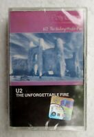 The Unforgettable Fire by U2 Rare 1990 Malaysia Cassette Brand New Sealed