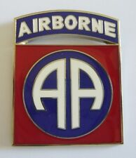 "82nd AIRBORNE DIVISION ""Badge"" (Fabrication Actuelle)"