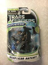 Decepticon Hatchet Commander Class MOSC Transformers Dark of the Moon Cyberverse