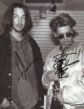 KEANU REEVES & RIVER PHOENIX SIGNED PHOTO 8X10 AUTOGRAPHED PICTURE
