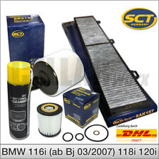 Filterset / Inspektionspaket BMW 1er & 3er   3 x Filter + Klimaanlagenreiniger
