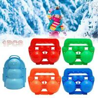 Snowball Maker Snow Winter Ball Kids Clip Toy Outdoor Sand Toys Mold Tool Child