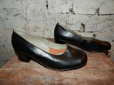 USSR RUSSIAN SOVIET Red Army uniform MILITARY women leather shoes Vintage 1978