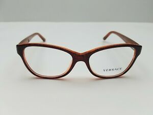 New Authentic VERSACE Eyeglasses MOD 3188 5089 52-16-140 without case