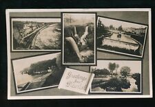 Devon DAWLISH Greetings from Used 1935 M/view RP PPC by Chapman