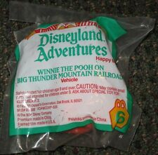 1994 Disneyland Adventures Winnie The Pooh Railroad McDonalds Happy Meal Toy