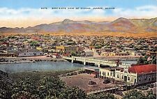 Mexico postcard Bird's Eye View of Ciudad Juarez  aerial
