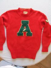 Vintage Anderson Pullover Wool Mens Letter Sweater Size Medium