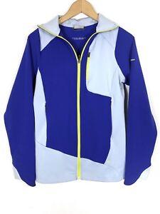 Columbia Womens Trail Twist II Jacket Sz M Purple Blue Athletic Full Zip Zipper