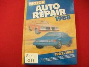 VINTAGE 1982-88 MOTOR'S MANUAL RESTORATION REPAIR NEWPORT THUNDERBIRD IMPALA +++