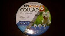 PetAction Collar Adjustable Kills Fleas/Ticks 6 Months Small Dogs Buy 1 Get 1