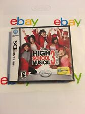 HIGH SCHOOL MUSICAL 3 III SENIOR YEAR Nintendo DS Handheld System Game COMPLETE
