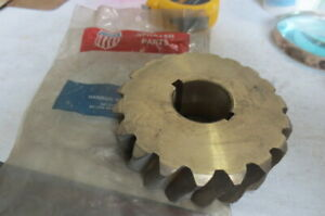 """Hanson sprayer parts 03373 heavy brass gear 3 3/4"""" diameter,1 1/4"""" high,1 1/4 ID"""
