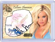 Benchwarmer GOLD Edition Archive Colleen Shannon autograph auto KISS card #13/50