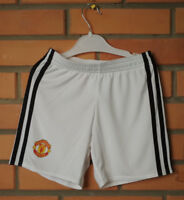 Manchester United Shorts Size Boys 5-6 years Adidas Football Soccer