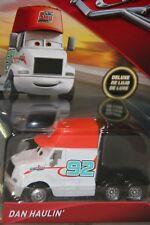 "DISNEY PIXAR CARS 3 "" DAN HAULIN' "" IMPERFECT PACKAGING, SHIP WORLDWIDE"