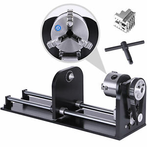 New Irregular Laser Cylinder Rotary Rotary Axis For 50W-100W Engraver Cutter