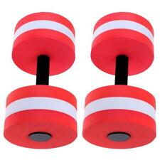 2x Water Weight Workout Aquatic Dumbbells Foam Barbell Fitness Swimming Pool