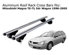 Roof Rack Cross Bars 4 Mitsubishi Magna Wagon with existing rails TE-TL 96-05