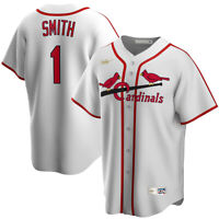 Nike St. Louis Cardinals Ozzie Smith Cooperstown Collection Replica Team Jersey