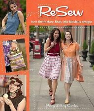 ReSew: Turn Thrift-Store Finds into Fabulous Designs, Jenny Wilding Cardon, book