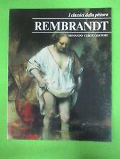 BOOK LIBRO REMBRANDT I Classici della Pittura 34 1980 Armando Curcio (L57)