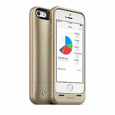 Mophie 32GB Memory & 1700mAh Battery Power Bank Case Cover for iPhone 5 5S GOLD