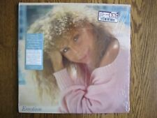 Barbra Streisand LP 1984 Emotion EX + in shrink with hype sticker