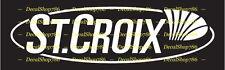 St. Croix Fishing Rods - Outdoors Sports - Vinyl Die-Cut Peel N' Stick Decal