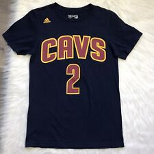 KYRIE IRVING 2016 Adidas Cleveland Cavaliers T-Shirt Alternative Jersey Small