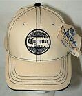 Vintage 2008 Corona Extra Beer Mas Fina Tan Baseball Cap Hat New NOS Tags OSFM