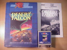 Atari XL/XE - DESERT FALCON - Game Cartridge - MIB - Complete !