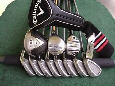 Callaway King Cobra Irons Driver Wood Hybrid Complete Golf Club Set Mens RH Set