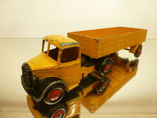 DINKY TOYS 409 BEDFORD ARTICULATED LORRY - YELLOW - GOOD CONDITION