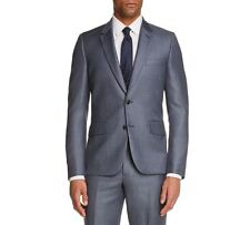 3270040caee1e3 Paul Smith Men's Blue Solid Sport Coat Suit Wool Blazer Italy US 36r EU 46r