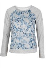 AIKO Blue Kassidi Heather Grey Jumper sweatshirt Small $195 NWT