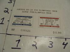 juegos de la XIX olimpiada 1968, serie preolimpica 1967 #5