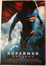 "SUPERMAN RETURNS MOVIE POSTER B 11"" x 17"" Brandon Routh"