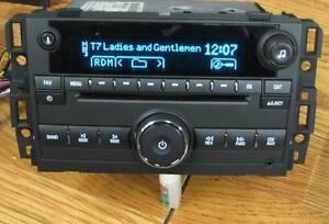 UNLOCKED 2007-13 GM CHEVY TAHOE SILVERADO GMC YUKON RADIO CD MP3 INPUT US8