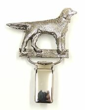 Munsterlander Dog Show Ring Clip/ Ring Number Holder
